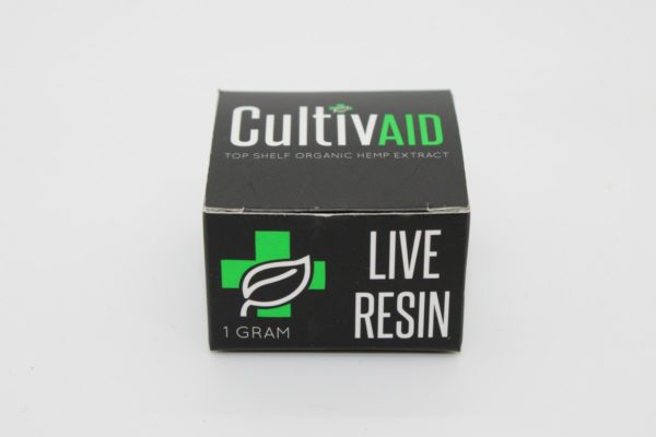 Cultivaid Live Resin box front view