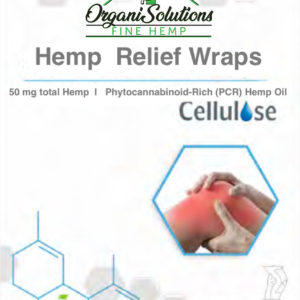 OrganiSolutions Hemp Relief Wraps