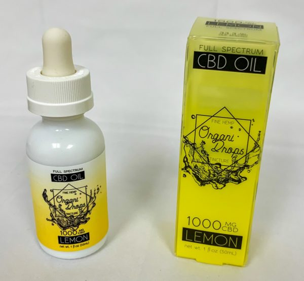 OrganiDrops Lemon 1000mg