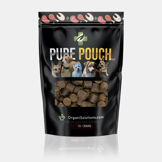 bag of Pure Pouch dog chews
