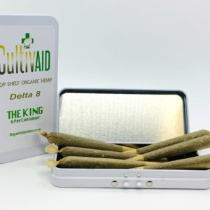 Cultivaid D8 Pre-Roll Tin - The King