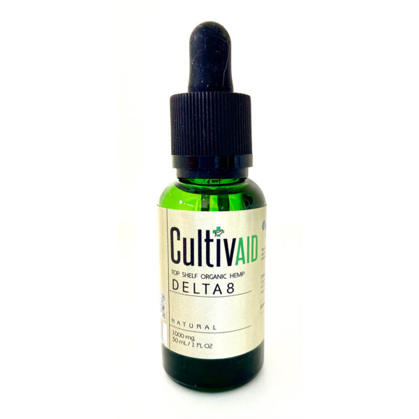 Cultivaid D8 Tincture - 1000mg bottle