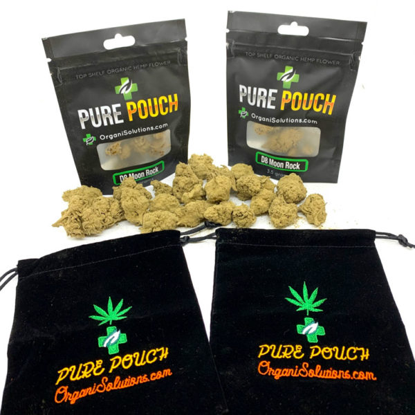 Pure Pouch D8 Moon Rock - with mylar bags